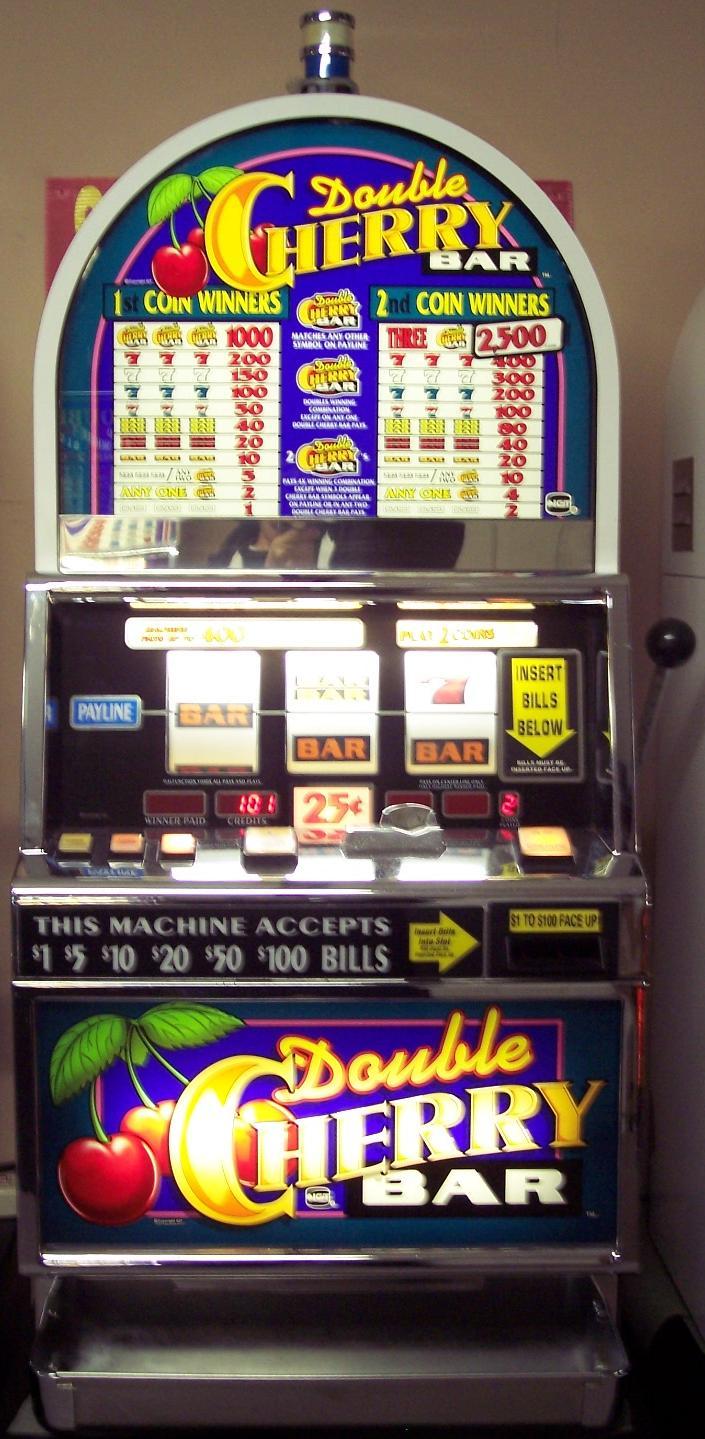 Double Wild Cherry Slot Machine