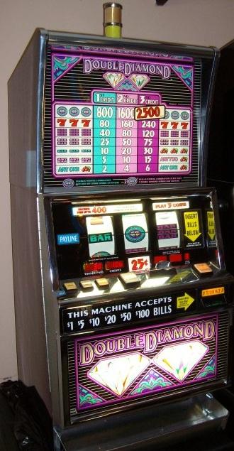 Double diamond run slot machine for sale