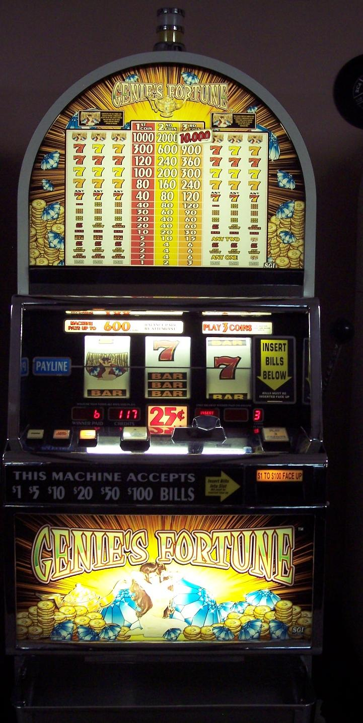 Genie S Fortune Slot Machine