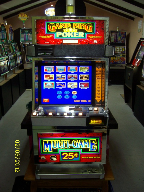 Game King Video Slot Machine