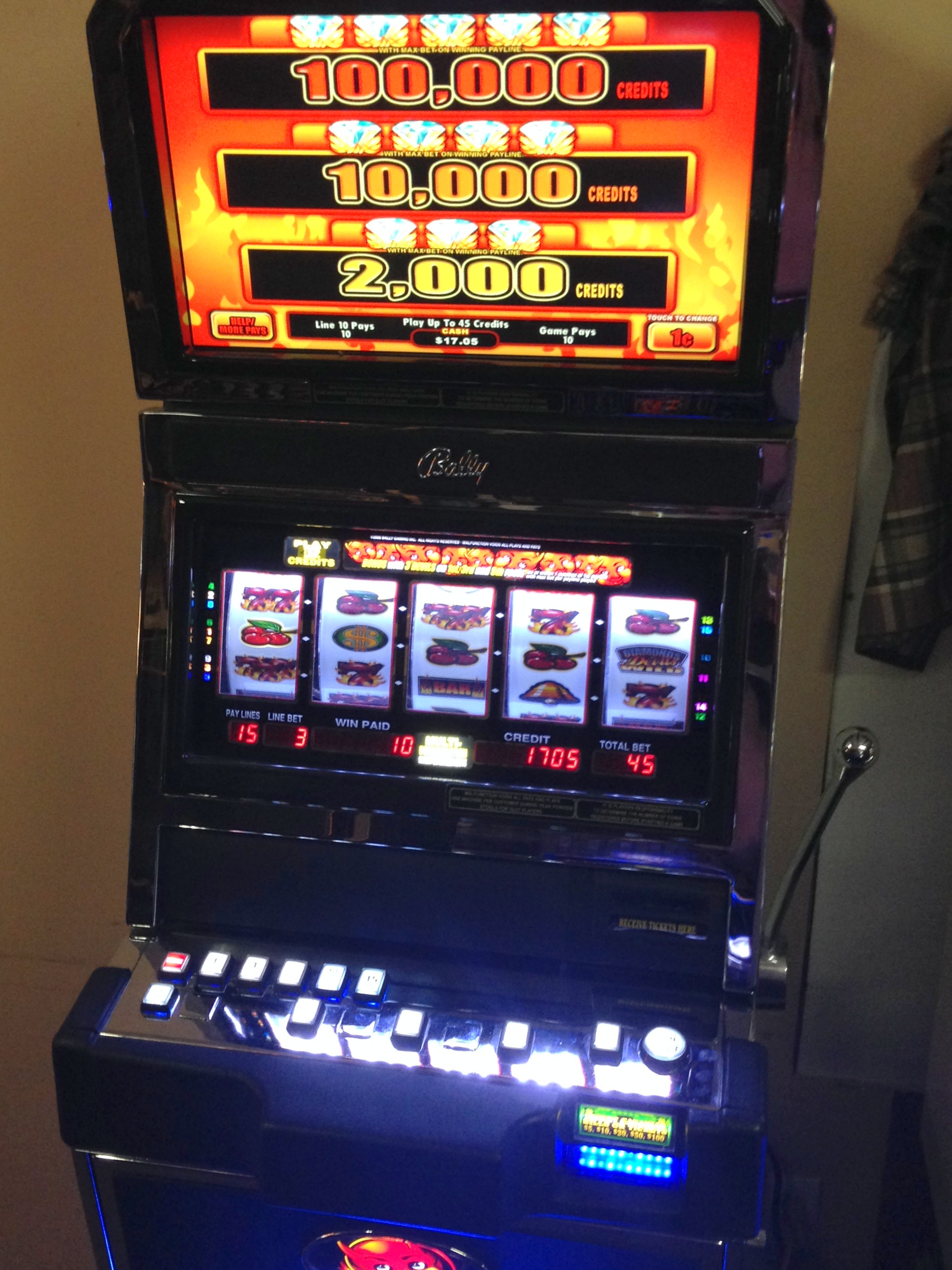 hot shot slot machines for sale